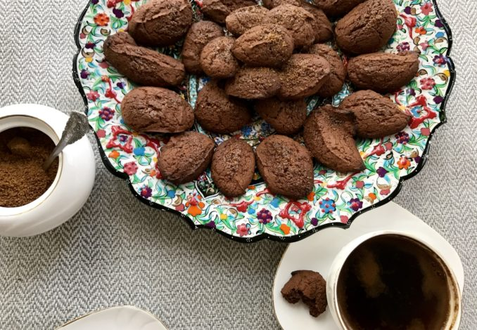 Ciastka kokosowo-czekoladowe bez glutenu i laktozy